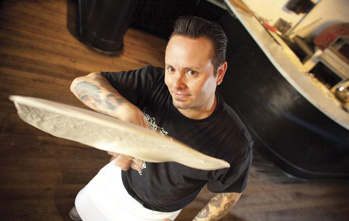 Tony Gemignani brings his pizza empire to AT&T Park today with Slice House