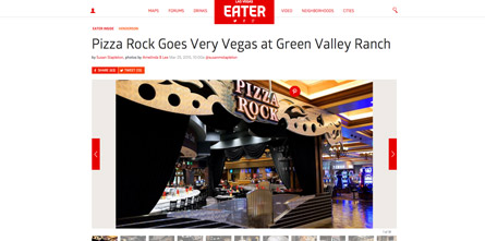 Pizza Rock Goes Very Vegas at Green Valley Ranch