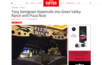 Tony Gemignani Steamrolls into Green Valley Ranch with Pizza Rock