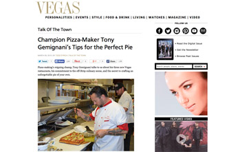 Champion Pizza-Maker Tony Gemignani's Tips for the Perfect Pie