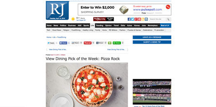View Dining Pick of the Week: Pizza Rock