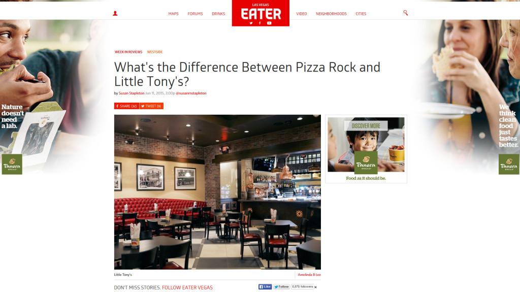 What's the Difference Between Pizza Rock and Little Tony's?