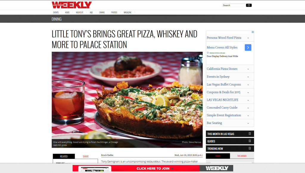 Little Tony's Brings Great Pizza, Whiskey, and More to Place Station