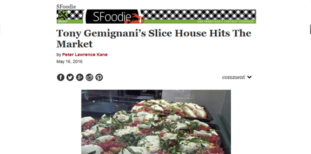 Tony Gemignani's Slice House Hits The Market