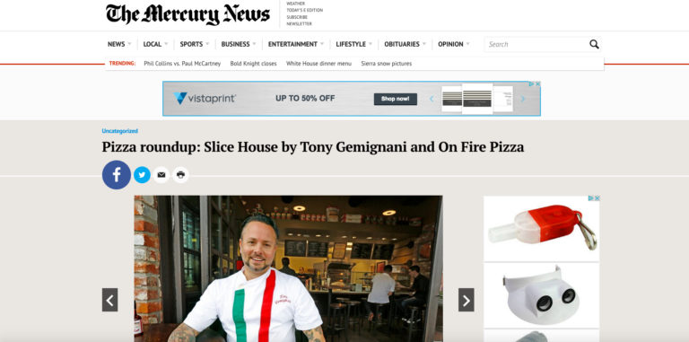 Pizza roundup: Slice House by Tony Gemignani and On Fire Pizza