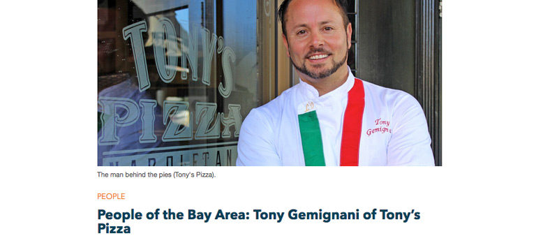 People of the Bay Area: Tony Gemignani of Tony's Pizza