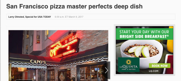 San Francisco Pizza Master Perfects Deep Dish