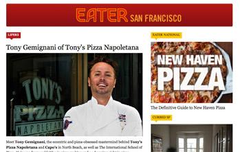 Tony Gemignani of Tony's Pizza Napoletana