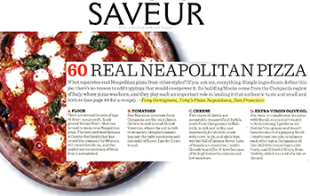 Real Neopolitan Pizza, Saveur 100