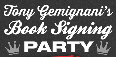 Tony Gemignani's Book Signing Party
