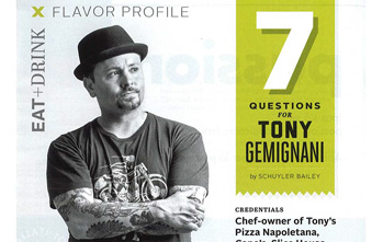 7 Questions for Tony Gemignani