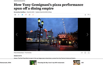 How Tony Gemignani's pizza performance spun off a dining empire