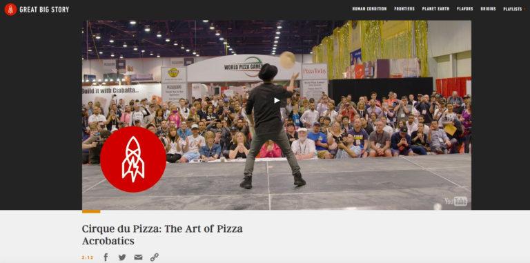 Cirque du Pizza: The Art of Pizza Acrobatics